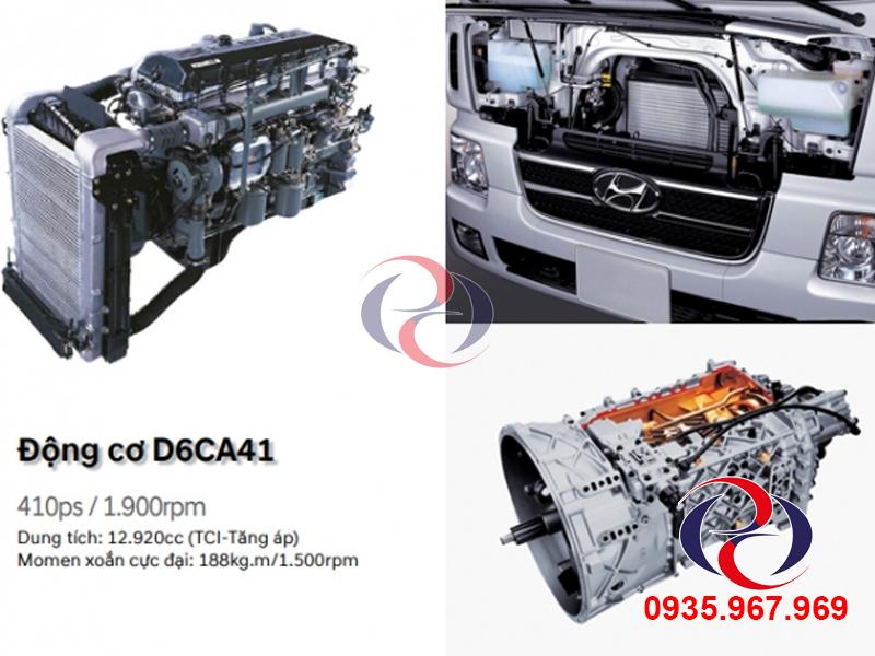 động cơ xe HYundai HD1000