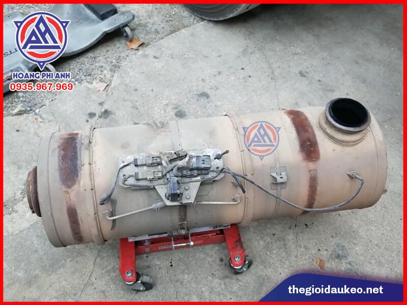ống bô chứa hệ thống DPF